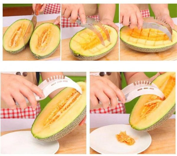 Stainless Steel Watermelon Slicer Cutter Knife Corer Fruit Vegetable Tools Kitchen accessories Gadgets