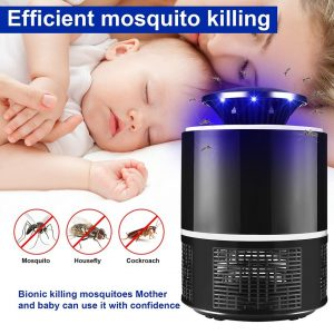 Led Mosquito Killer Lamp USB Electric Mosquito Killing Light Photocatalytic Repellent LED Bug Zapper Insect Trap For Baby Care