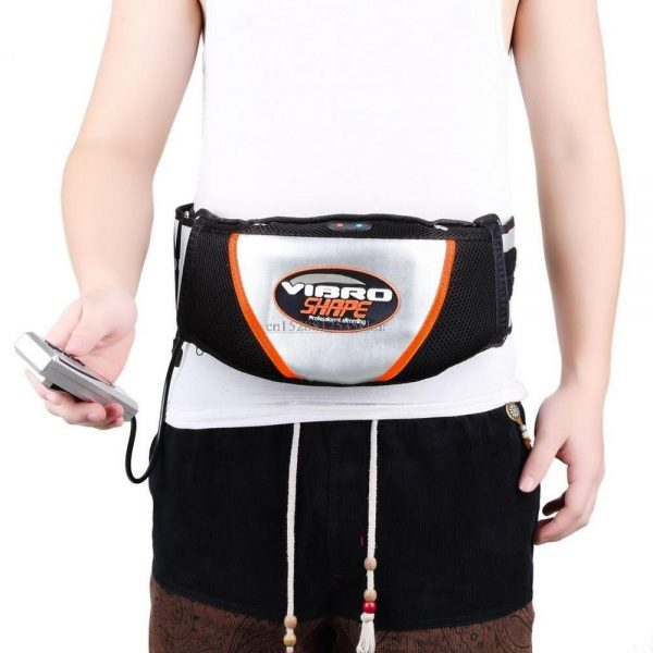 Electric Waist Vibrating Massage Belt Lose Weight Slimming Massager Burning Fat Fitness Exercise Tool Muscle Trainer