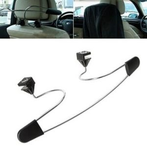 Car Back Seat Headrest Free Shipping 1pc Stainless Steel Car Autoat Hanger Multi-Purpose Storage Suit Shirts Jacket Cloth Rack