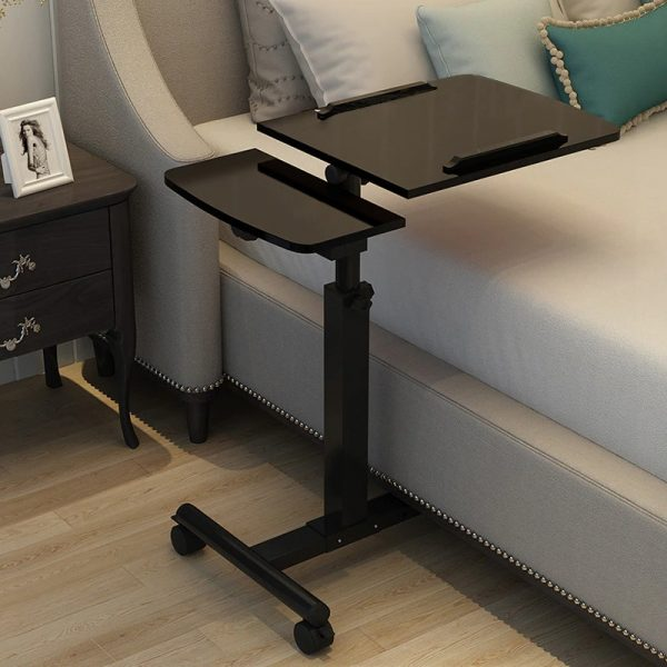 Foldable Computer Table Portable Rotate Laptop Desk Table for Bed Can be Lifted Standing Desk Home Furniture