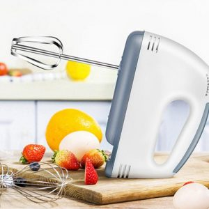 Electric Whisk 7 Speed Control Hand Mixer Food Blender Food Processor Kitchen Mini Electric Egg Beater