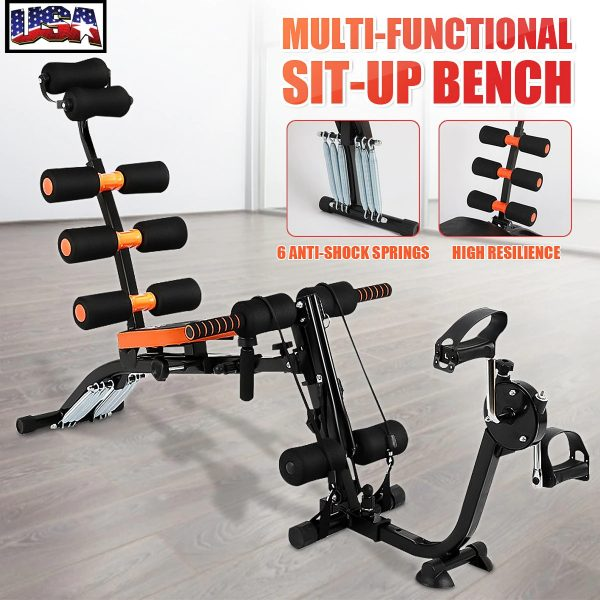 Multifunction 6-in-1 Sit Up Benches Training Muscles Fold Fitness Machines Home Universal Board abdominal Exerciser Equipments